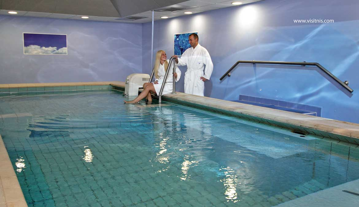 Wellness centar – Radon Institute in the Spa of Nis
